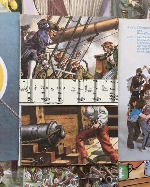 10 Ladybird Book Pages